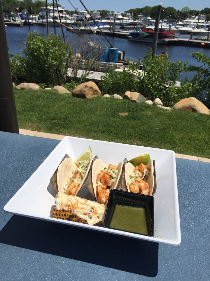 Shrimp Taco by the Water