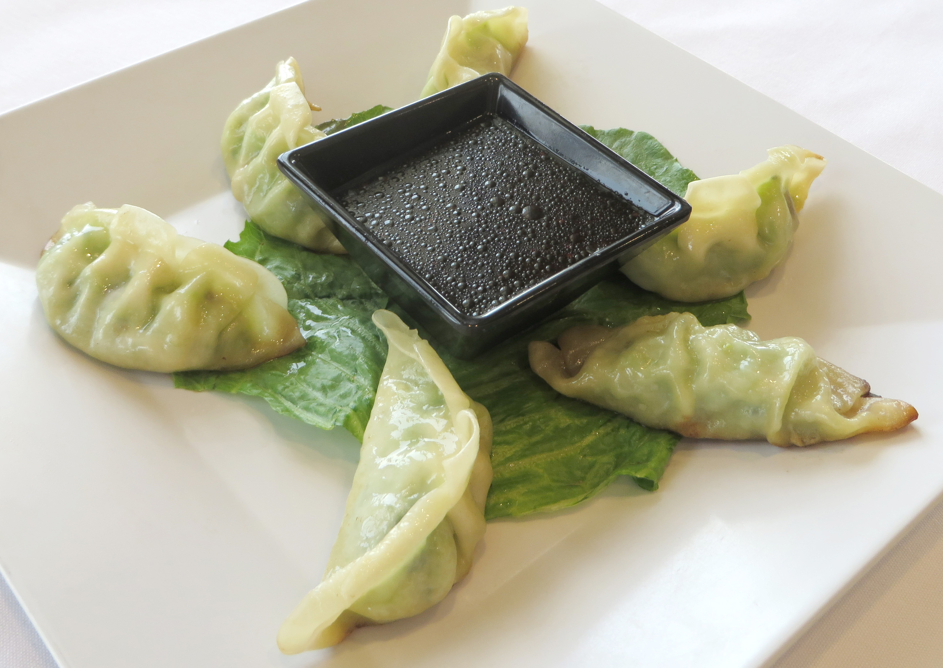 Potstickers at Seaside Bar and Grill