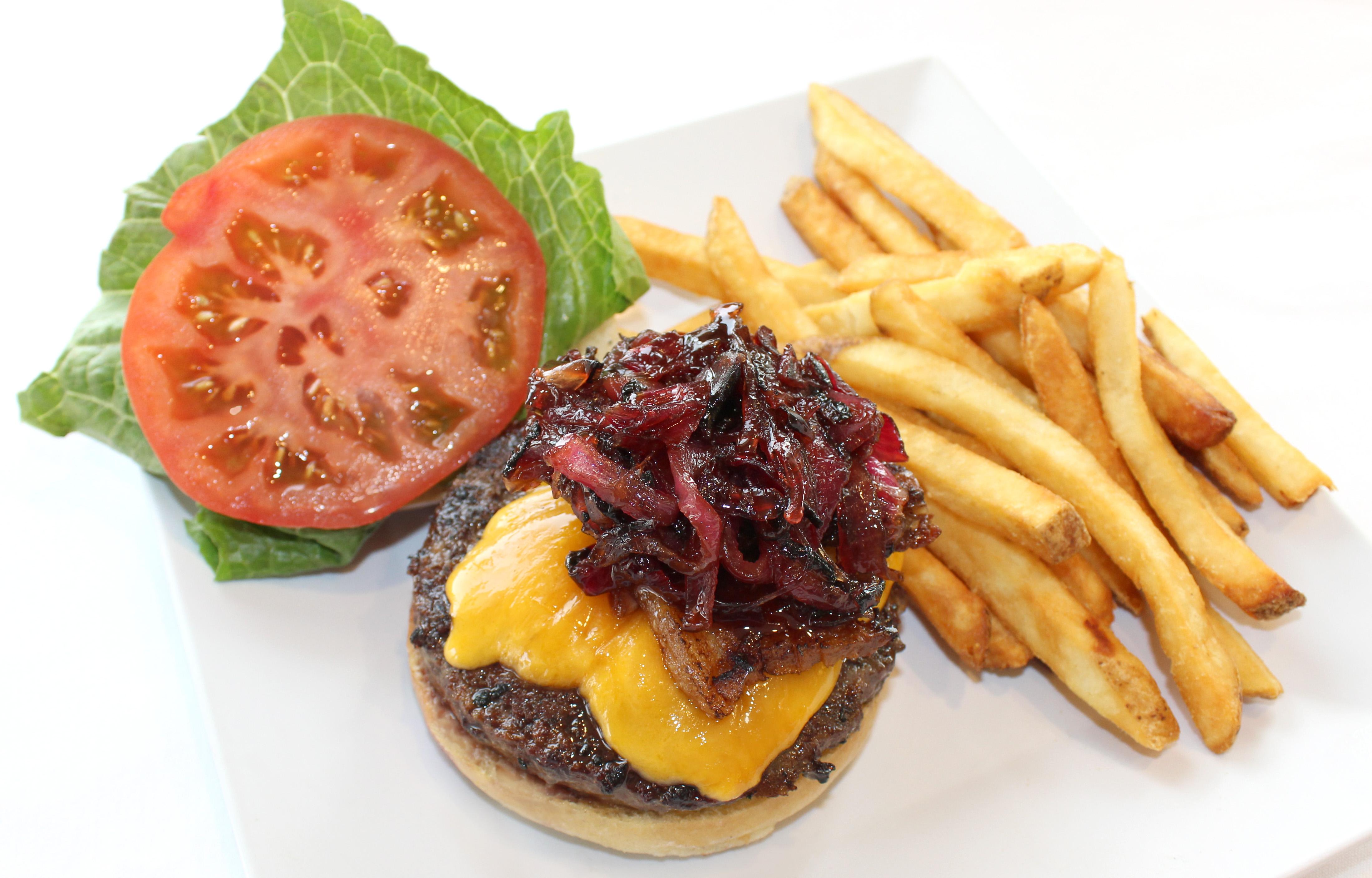 Cobb Burger at Seaside Bar and Grill