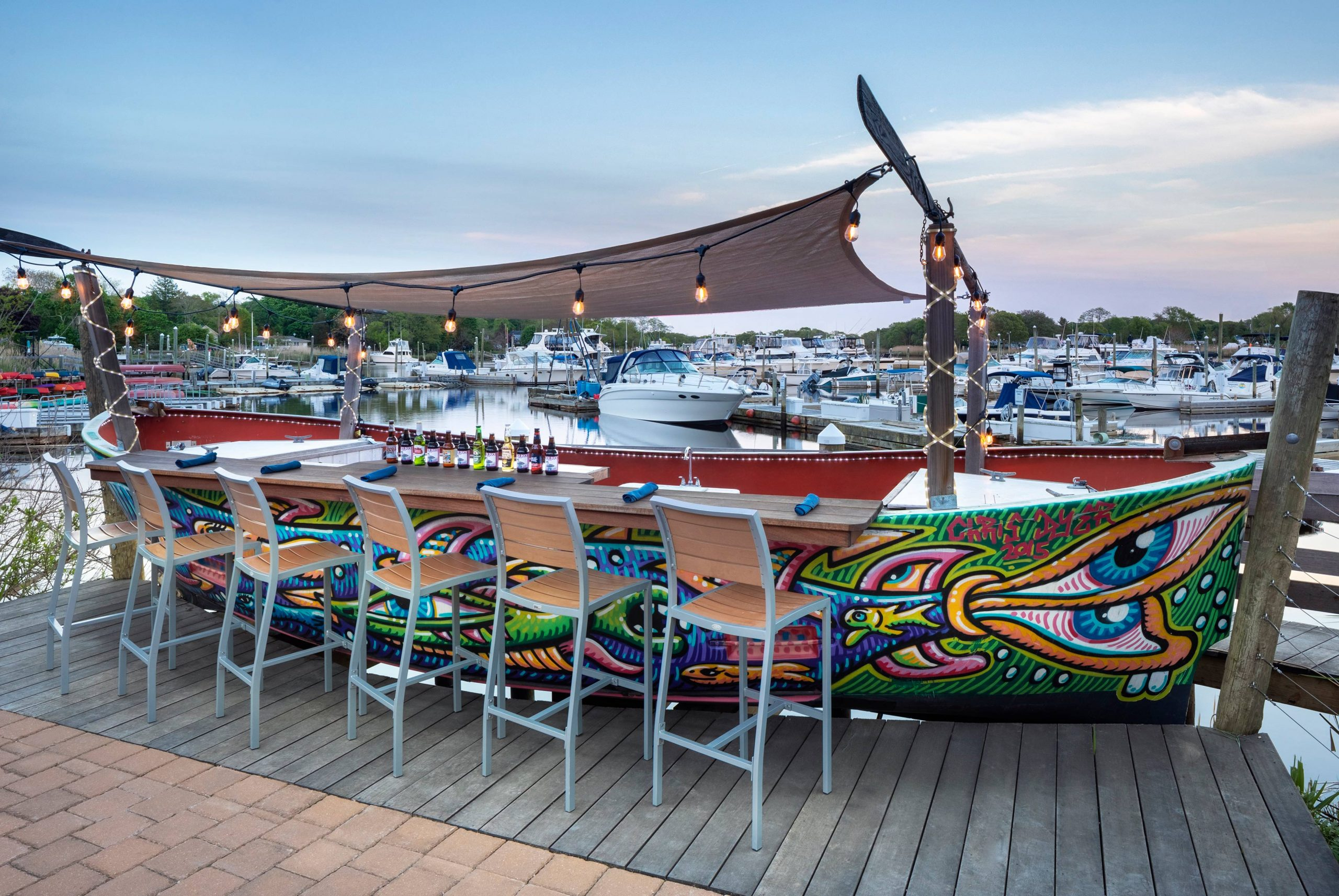 Seaside Grill Boat Bar